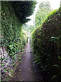 SE2433 : Path from Post Hill Court to the Leeds ring road by Stephen Craven