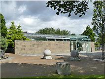 NJ9304 : Duthie Park: entrance to the winter gardens by Stephen Craven