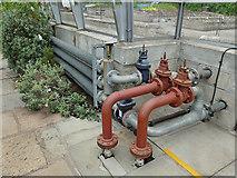 NJ9304 : Duthie Park: valve arrangement in the winter gardens by Stephen Craven