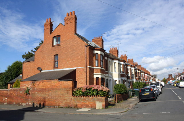 Northumberland Road houses at Waveley Road junction