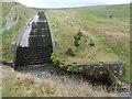 SE0607 : Dry spillway, Wessenden Head reservoir by Christine Johnstone