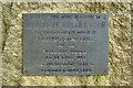 SD7807 : Plaque on Rotary Club Stone by David Dixon