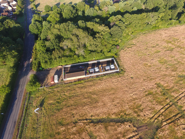 Hedge End 33/11KV electricity substation