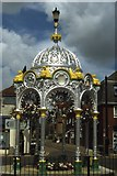 TL4196 : March - The Fountain, Broad Street by Colin Park