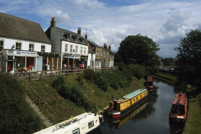 March - The River Nene (old course) through town