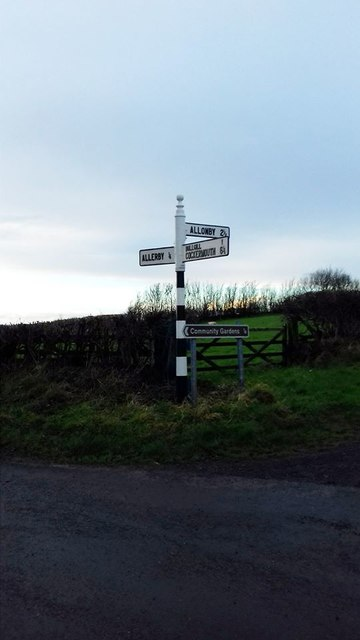 Direction Sign – Signpost