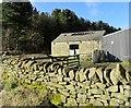 NZ1249 : Old barn at High Castle Dene by Robert Graham