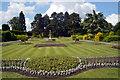 SE5006 : Formal garden, Brodsworth Hall by habiloid