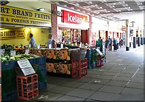 TG2309 : People queuing at Iceland in the Anglia Square shopping centre by Evelyn Simak