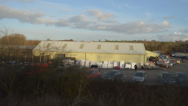 Industrial unit, Whilton Locks by N Chadwick