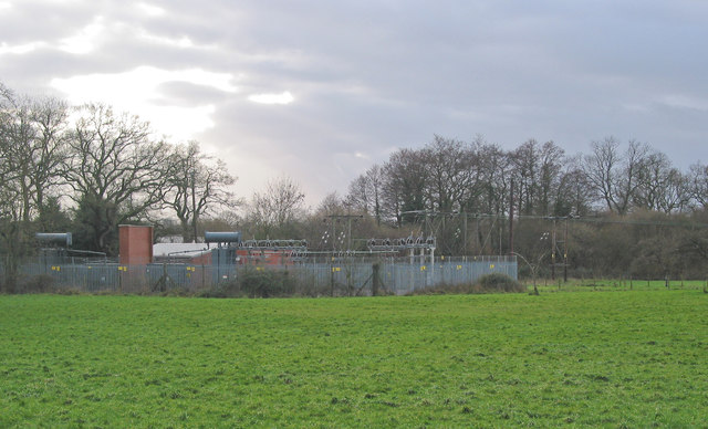Bishop's Waltham 33/11KV electricity substation