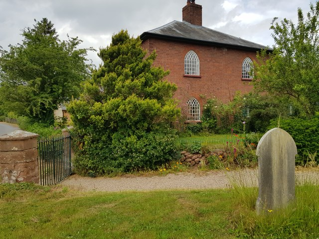 House next to St Mary's Church,  Shrawley, Worcestershire