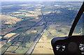 SP6067 : Aerial view of Watford Gap by Stephen McKay