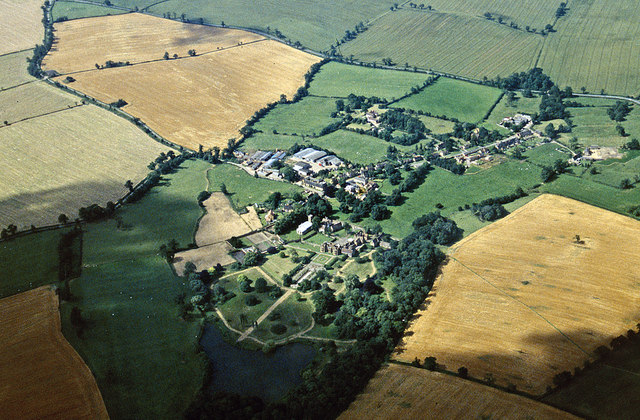 Aerial view of Ashby St Ledgers