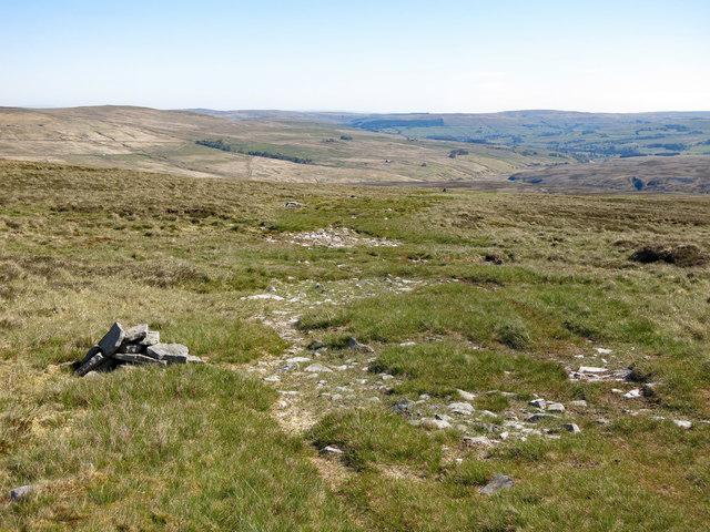 The Maiden Way near Hard Rigg Edge