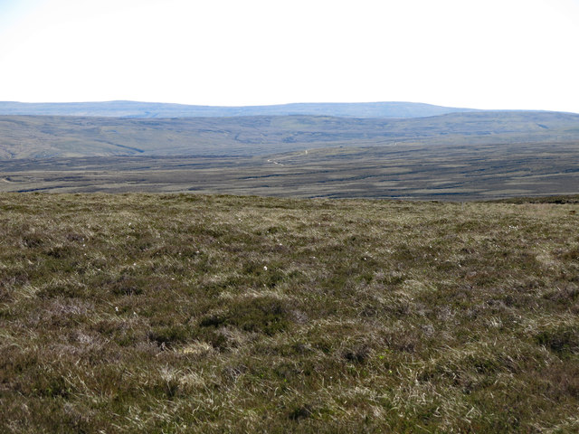 Moorland east of the Maiden Way