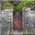 J5282 : Gate, Ballyholme Beach by Rossographer