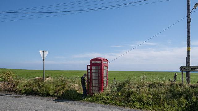 Telephone call box, Kearney