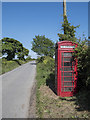 J6248 : Telephone call box near Portaferry by Rossographer