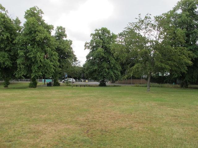 Uxbridge Common, view to Park Way and Gatting Way