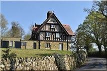 TQ5741 : Oak Lodge, Salomons House by N Chadwick