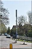TQ5841 : Telecommunication mast, Powdermill Lane by N Chadwick