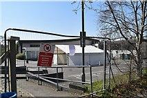 TQ5841 : COVID 19 testing Centre by N Chadwick