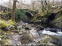 SH6229 : Pont Cwm-yr-afon by David Medcalf