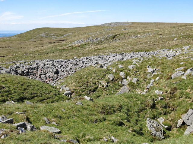Shake holes and rocks at Ardale Head
