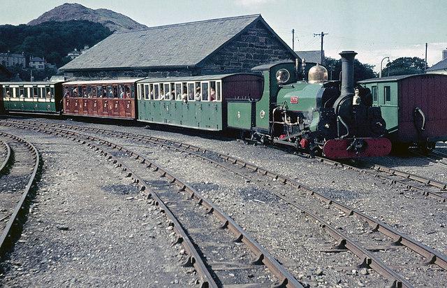 Porthmadog Station, Ffestiniog Railway