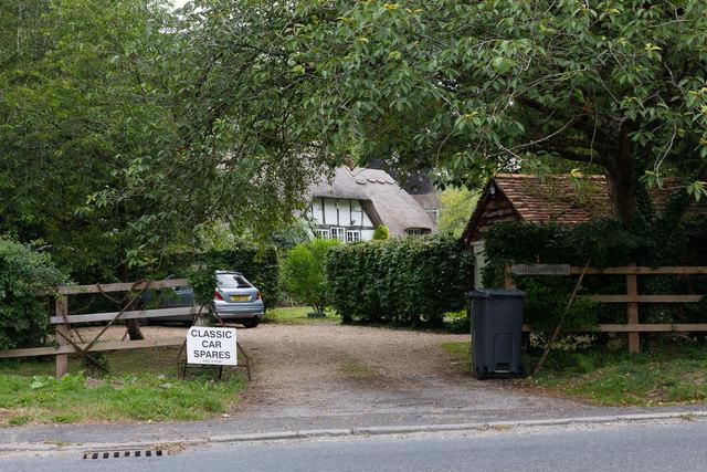 House named Silverstream, Bedfield Lane