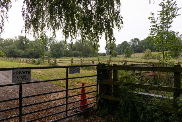 Fields south of Puddling Lane