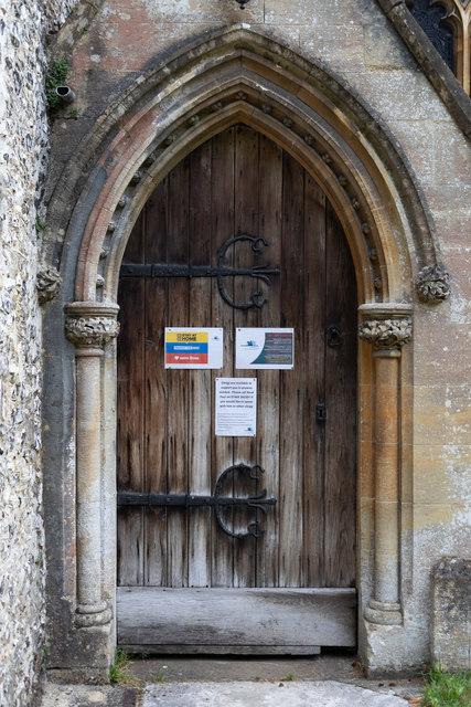 South door of St. Swithun's Church