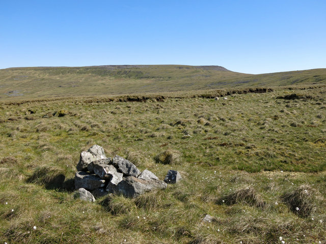 Cairn on the eastern slopes of Raehow End
