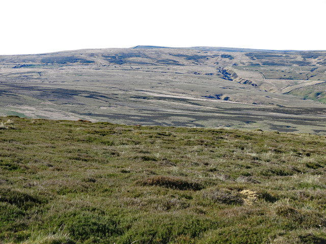 Moorland around the Maiden Way