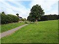 SE2335 : Bramley Park: lower perimeter path by Stephen Craven