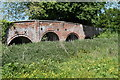 SU7265 : Bridge over the river Blackwater, Swallowfield Park by Simon Mortimer