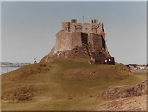 NU1341 : Lindisfarne Castle from the east by Colin Pyle