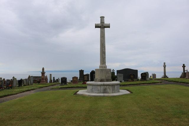 War Memorial, Dunure Cemetery
