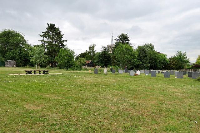 Radwinter churchyard