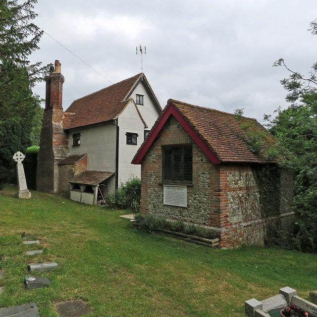 Radwinter: The Old Vicarage and The Zeta House