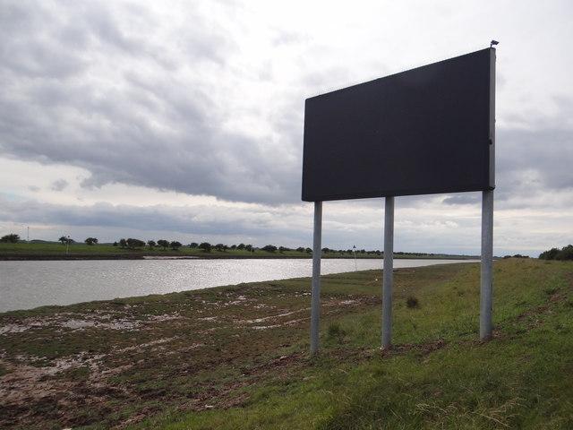 Big signpost