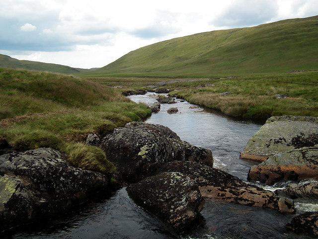 Crossing Afon Hengwm
