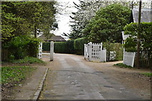 TQ5639 : Entrance to Nevill Park by N Chadwick