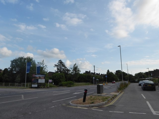 Junction of Cranford Road and The Causeway