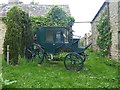 NY9258 : Old carriage at Low Dalton by Oliver Dixon