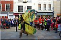 SO8554 : Street entertainment in the High Street (1), Worcester by P L Chadwick