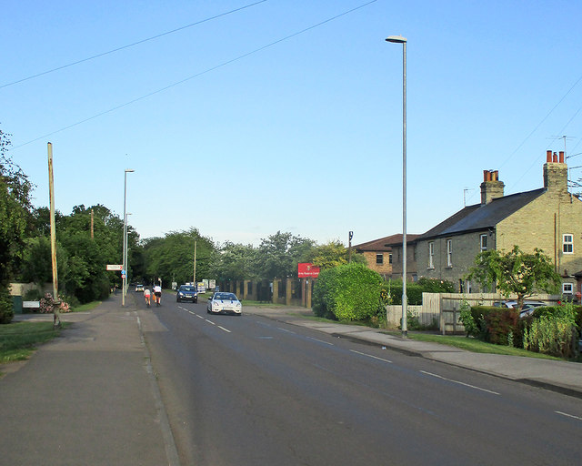 Cherry Hinton Road on a June evening