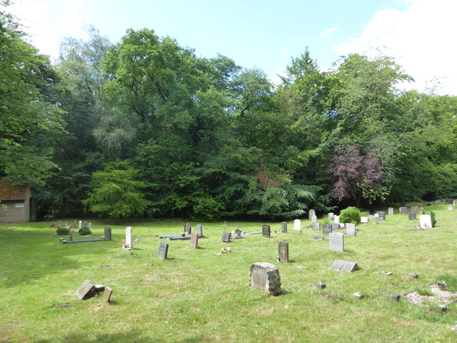 Shottermill Cemetery on the longest day (l)