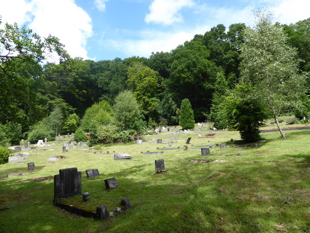 Shottermill Cemetery on the longest day (m)